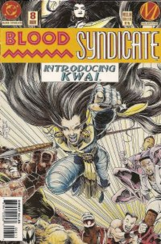 Cover of Blood Syndicate (Vol 1) #8. One of 250,000 Vintage American Comics on sale from Krypton!