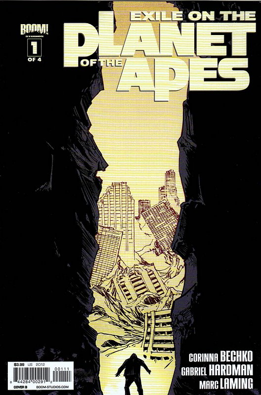Cover of Exile on the Planet of the Apes (2012 Ltd) #1. One of 250,000 Vintage American Comics on sale from Krypton!