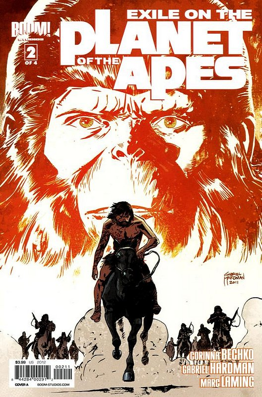 Cover of Exile on the Planet of the Apes (2012 Ltd) #2. One of 250,000 Vintage American Comics on sale from Krypton!