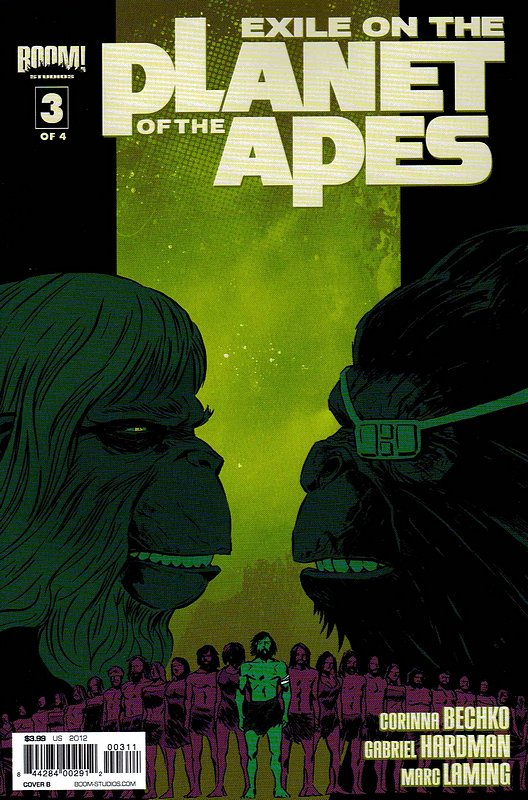 Cover of Exile on the Planet of the Apes (2012 Ltd) #3. One of 250,000 Vintage American Comics on sale from Krypton!
