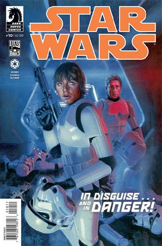 Cover of Star Wars (Vol 1) (Dark Horse) #10. One of 250,000 Vintage American Comics on sale from Krypton!