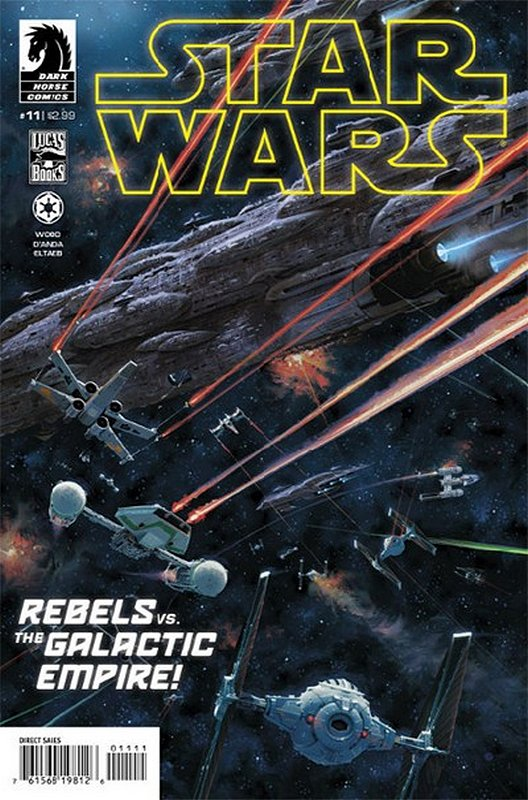 Cover of Star Wars (Vol 1) (Dark Horse) #11. One of 250,000 Vintage American Comics on sale from Krypton!