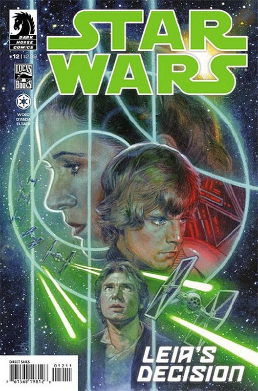 Cover of Star Wars (Vol 1) (Dark Horse) #12. One of 250,000 Vintage American Comics on sale from Krypton!