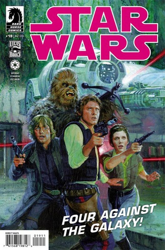 Cover of Star Wars (Vol 1) (Dark Horse) #19. One of 250,000 Vintage American Comics on sale from Krypton!