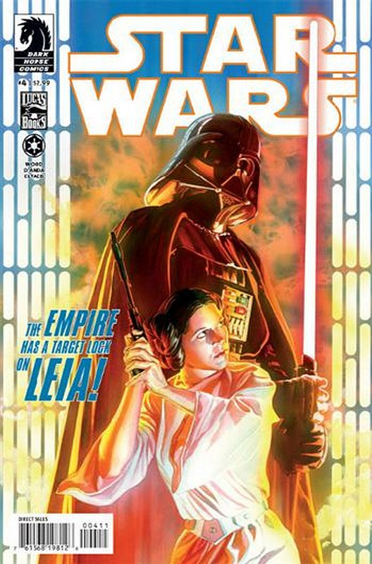 Cover of Star Wars (Vol 1) (Dark Horse) #4. One of 250,000 Vintage American Comics on sale from Krypton!