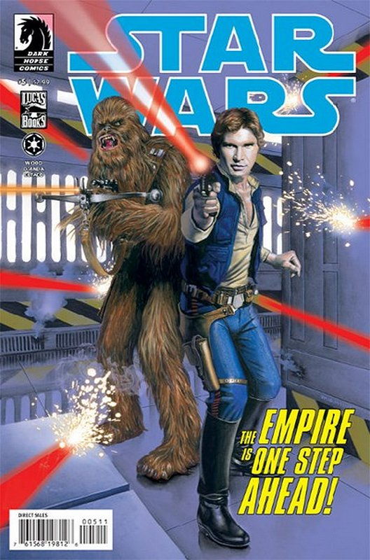 Cover of Star Wars (Vol 1) (Dark Horse) #5. One of 250,000 Vintage American Comics on sale from Krypton!