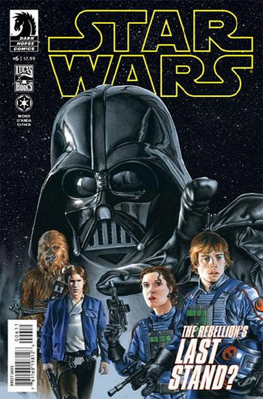 Cover of Star Wars (Vol 1) (Dark Horse) #6. One of 250,000 Vintage American Comics on sale from Krypton!