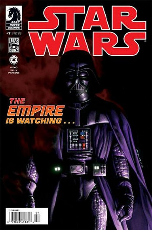 Cover of Star Wars (Vol 1) (Dark Horse) #7. One of 250,000 Vintage American Comics on sale from Krypton!