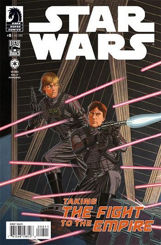 Cover of Star Wars (Vol 1) (Dark Horse) #8. One of 250,000 Vintage American Comics on sale from Krypton!