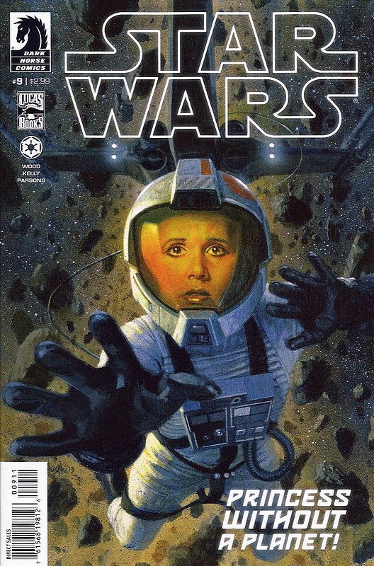 Cover of Star Wars (Vol 1) (Dark Horse) #9. One of 250,000 Vintage American Comics on sale from Krypton!
