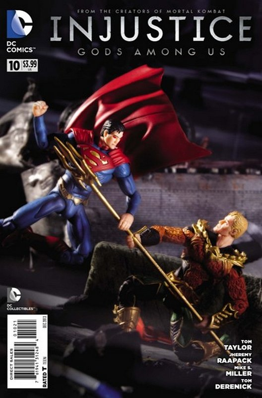 Cover of Injustice: Gods Among Us - Year One #10. One of 250,000 Vintage American Comics on sale from Krypton!