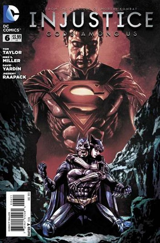 Cover of Injustice: Gods Among Us - Year One #6. One of 250,000 Vintage American Comics on sale from Krypton!
