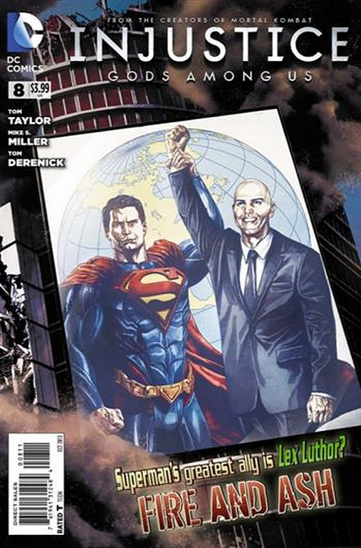 Cover of Injustice: Gods Among Us - Year One #8. One of 250,000 Vintage American Comics on sale from Krypton!