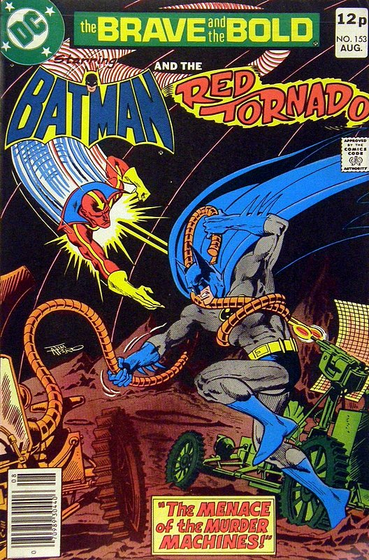 Cover of Brave & The Bold (Vol 1) #153. One of 250,000 Vintage American Comics on sale from Krypton!
