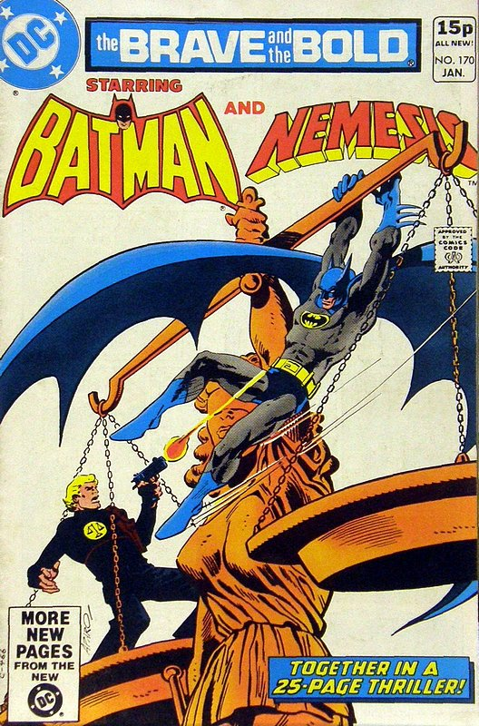 Cover of Brave & The Bold (Vol 1) #170. One of 250,000 Vintage American Comics on sale from Krypton!