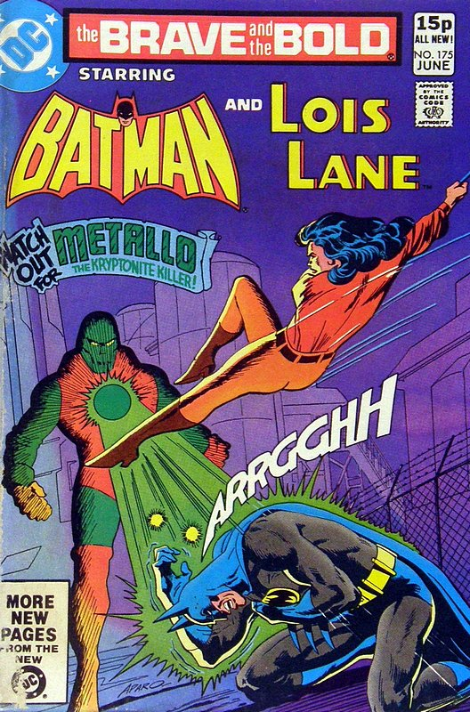 Cover of Brave & The Bold (Vol 1) #175. One of 250,000 Vintage American Comics on sale from Krypton!