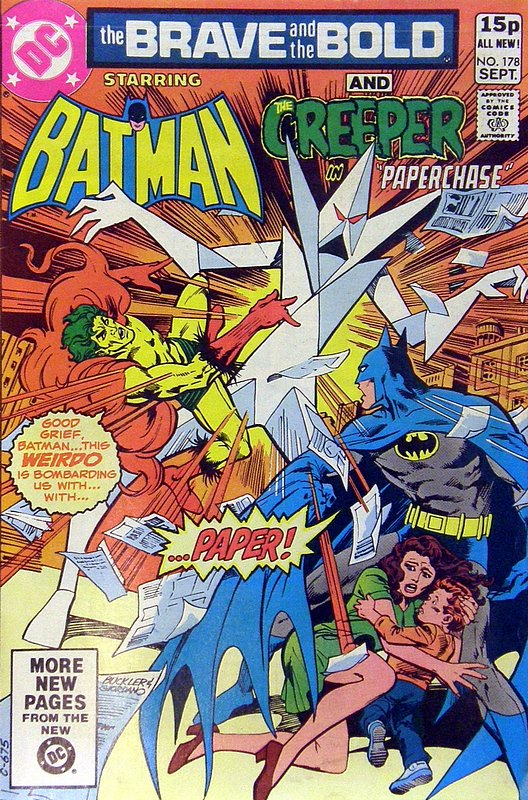 Cover of Brave & The Bold (Vol 1) #178. One of 250,000 Vintage American Comics on sale from Krypton!