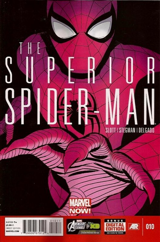 Cover of Superior Spider-Man (Vol 1) #10. One of 250,000 Vintage American Comics on sale from Krypton!
