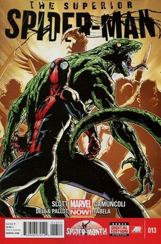 Cover of Superior Spider-Man (Vol 1) #13. One of 250,000 Vintage American Comics on sale from Krypton!