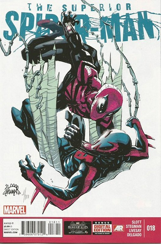 Cover of Superior Spider-Man (Vol 1) #18. One of 250,000 Vintage American Comics on sale from Krypton!
