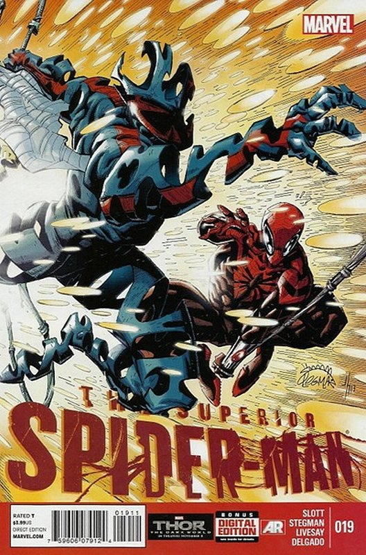 Cover of Superior Spider-Man (Vol 1) #19. One of 250,000 Vintage American Comics on sale from Krypton!