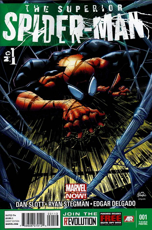 Cover of Superior Spider-Man (Vol 1) #1. One of 250,000 Vintage American Comics on sale from Krypton!