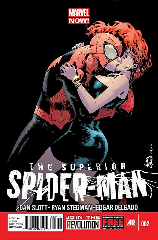 Cover of Superior Spider-Man (Vol 1) #2. One of 250,000 Vintage American Comics on sale from Krypton!