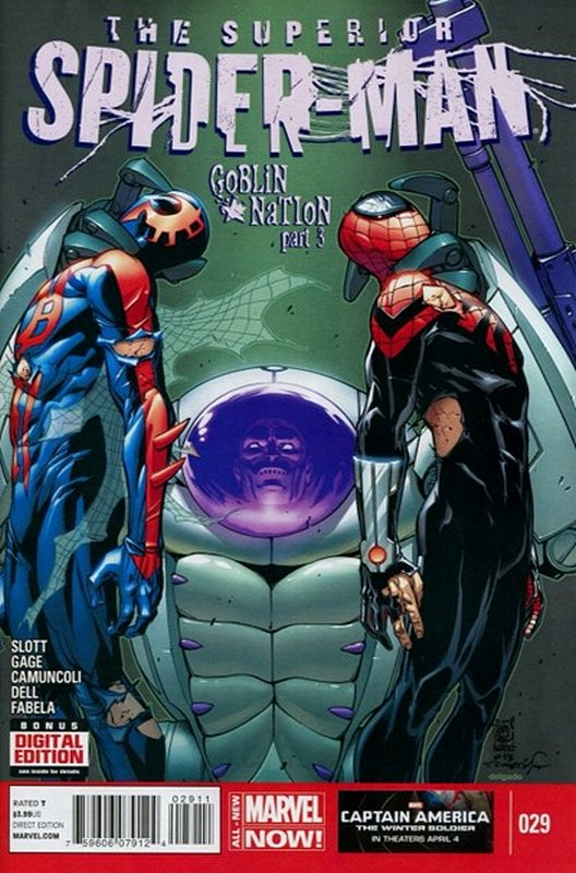 Cover of Superior Spider-Man (Vol 1) #29. One of 250,000 Vintage American Comics on sale from Krypton!