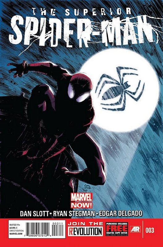 Cover of Superior Spider-Man (Vol 1) #3. One of 250,000 Vintage American Comics on sale from Krypton!