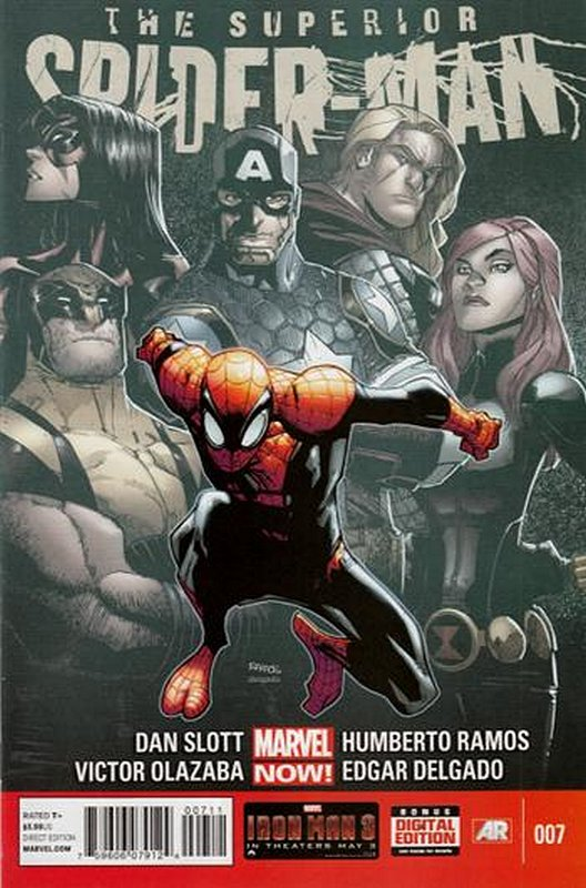 Cover of Superior Spider-Man (Vol 1) #7. One of 250,000 Vintage American Comics on sale from Krypton!