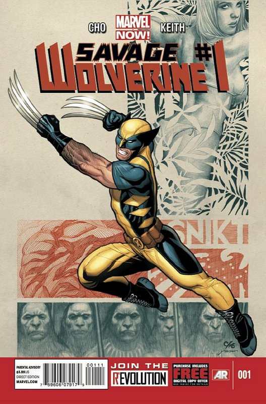Cover of Savage Wolverine (Vol 1) #1. One of 250,000 Vintage American Comics on sale from Krypton!