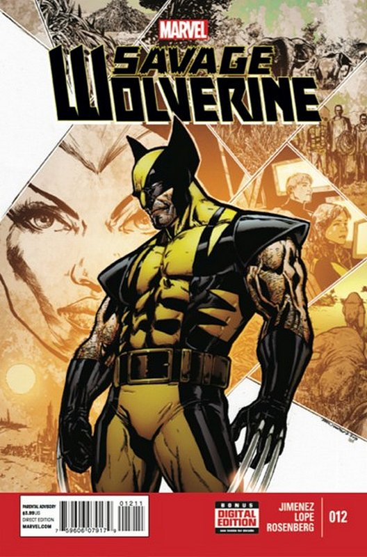 Cover of Savage Wolverine (Vol 1) #12. One of 250,000 Vintage American Comics on sale from Krypton!