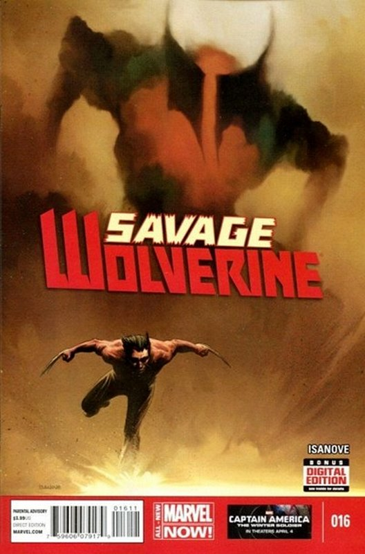 Cover of Savage Wolverine (Vol 1) #16. One of 250,000 Vintage American Comics on sale from Krypton!