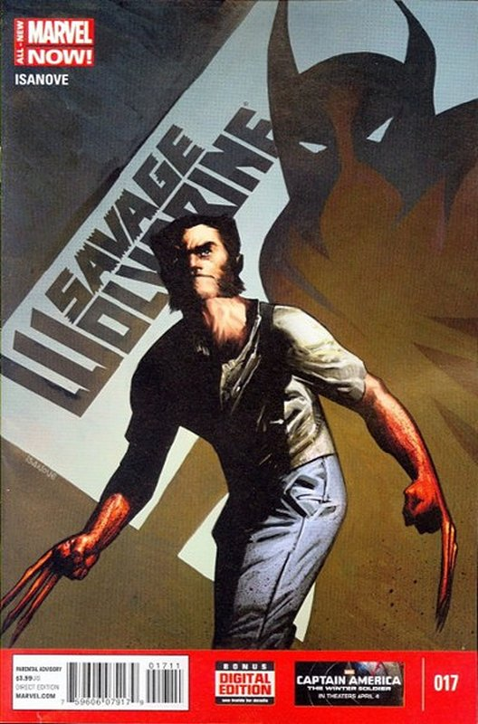 Cover of Savage Wolverine (Vol 1) #17. One of 250,000 Vintage American Comics on sale from Krypton!