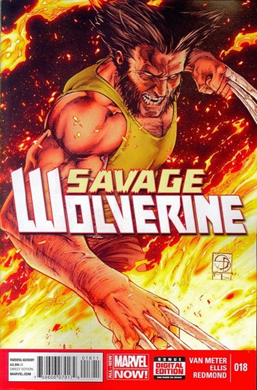 Cover of Savage Wolverine (Vol 1) #18. One of 250,000 Vintage American Comics on sale from Krypton!