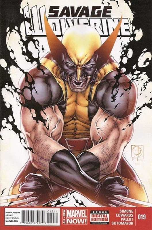 Cover of Savage Wolverine (Vol 1) #19. One of 250,000 Vintage American Comics on sale from Krypton!