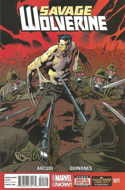 Cover of Savage Wolverine (Vol 1) #21. One of 250,000 Vintage American Comics on sale from Krypton!