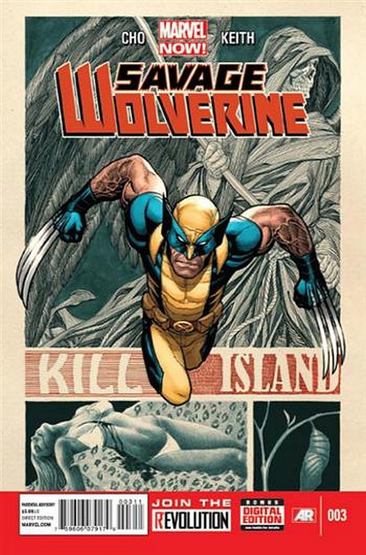 Cover of Savage Wolverine (Vol 1) #3. One of 250,000 Vintage American Comics on sale from Krypton!