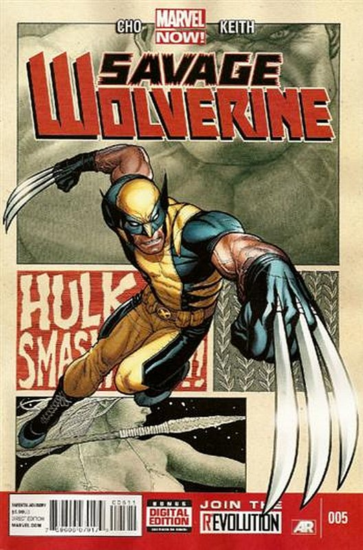 Cover of Savage Wolverine (Vol 1) #5. One of 250,000 Vintage American Comics on sale from Krypton!