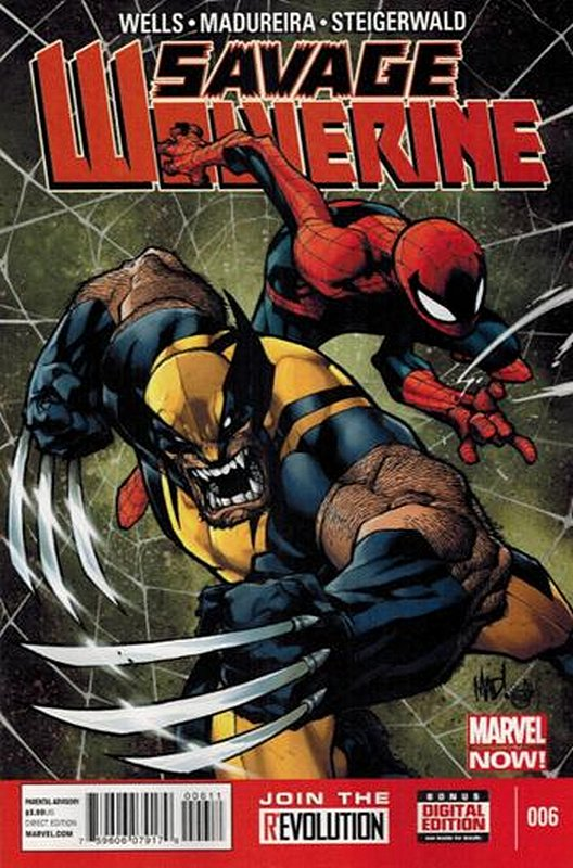 Cover of Savage Wolverine (Vol 1) #6. One of 250,000 Vintage American Comics on sale from Krypton!