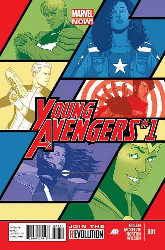 Cover of Young Avengers (Vol 2) #1. One of 250,000 Vintage American Comics on sale from Krypton!