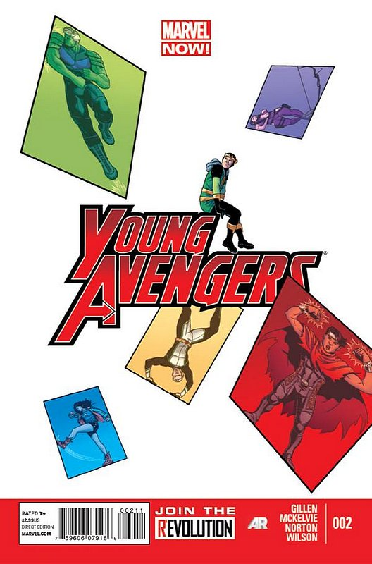 Cover of Young Avengers (Vol 2) #2. One of 250,000 Vintage American Comics on sale from Krypton!