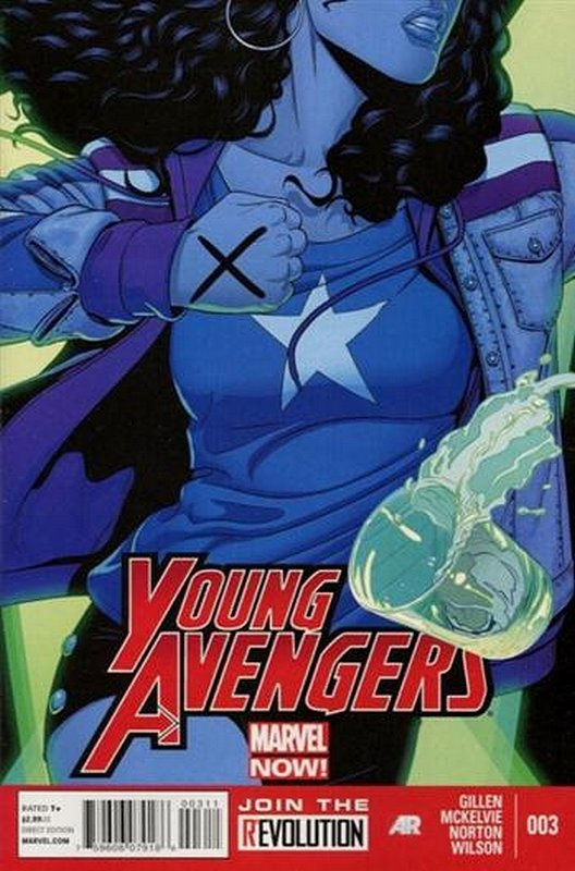 Cover of Young Avengers (Vol 2) #3. One of 250,000 Vintage American Comics on sale from Krypton!