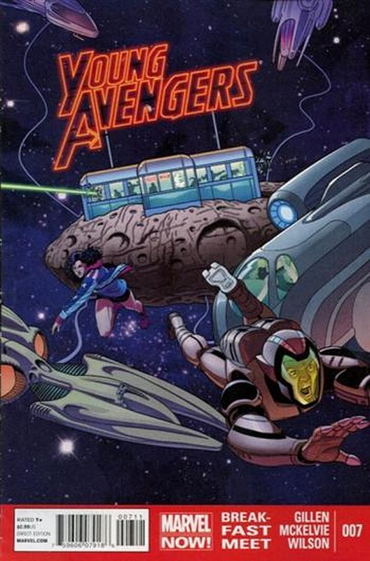 Cover of Young Avengers (Vol 2) #7. One of 250,000 Vintage American Comics on sale from Krypton!