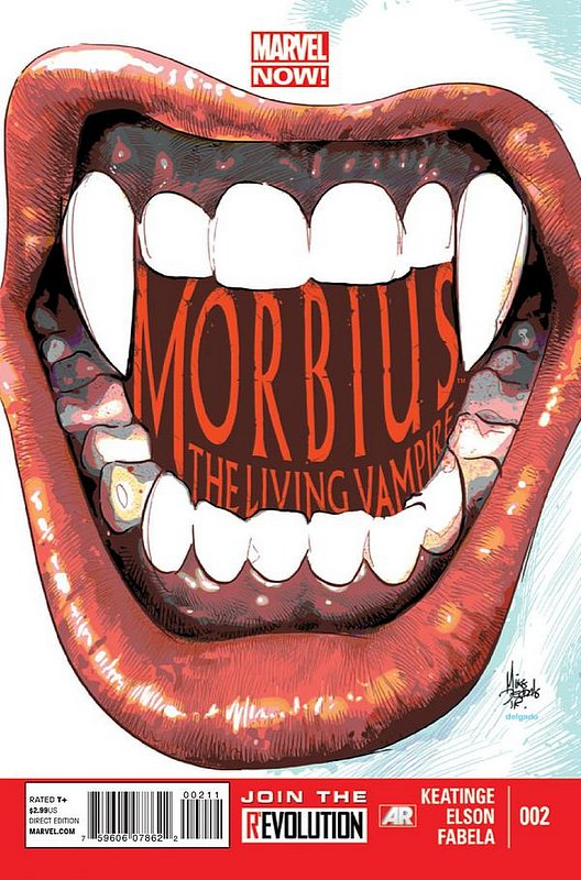 Cover of Morbius: Living Vampire (Vol 2) #2. One of 250,000 Vintage American Comics on sale from Krypton!