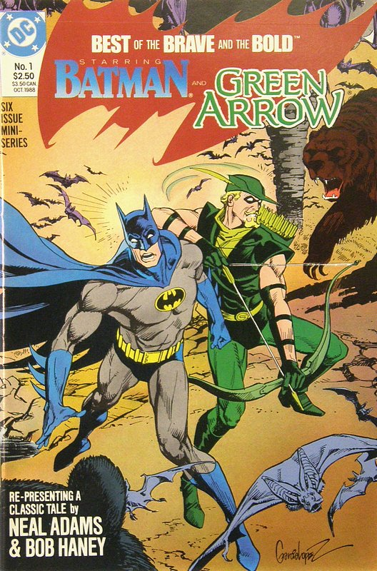 Cover of Brave & The Bold (1988 Ltd) Best of the #1. One of 250,000 Vintage American Comics on sale from Krypton!
