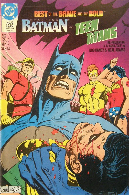 Cover of Brave & The Bold (1988 Ltd) Best of the #6. One of 250,000 Vintage American Comics on sale from Krypton!