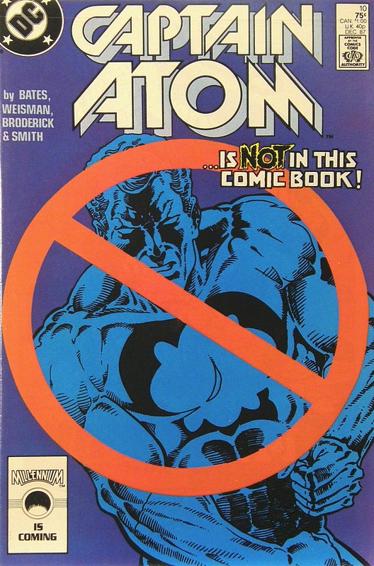 Cover of Captain Atom (DC) (Vol 1) #10. One of 250,000 Vintage American Comics on sale from Krypton!