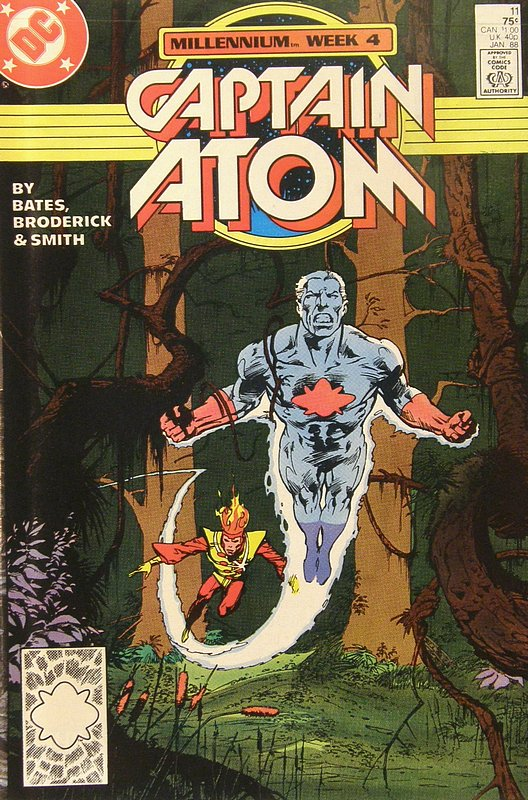 Cover of Captain Atom (DC) (Vol 1) #11. One of 250,000 Vintage American Comics on sale from Krypton!