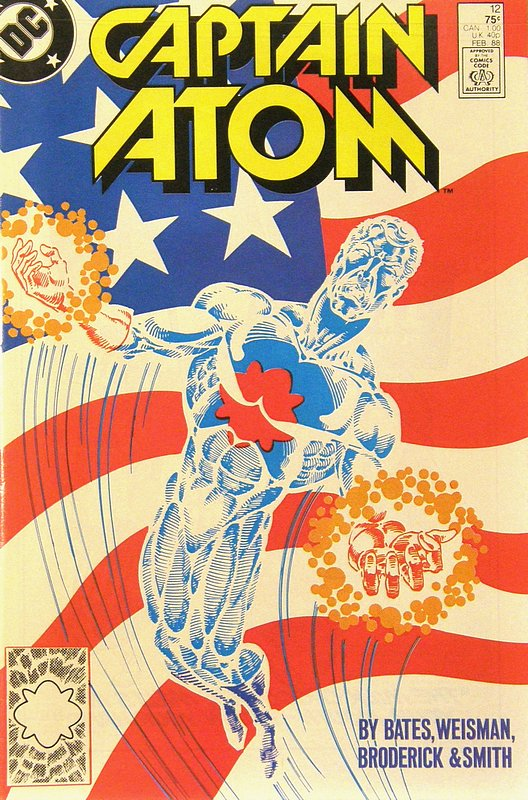 Cover of Captain Atom (DC) (Vol 1) #12. One of 250,000 Vintage American Comics on sale from Krypton!